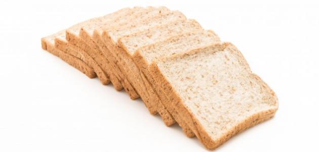 عمل خبز التوست