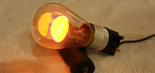 كيف تصنع مصباح كهربائي