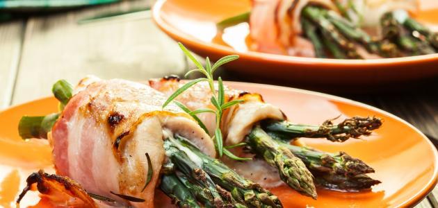 طريقة طبخ نبات الهليون