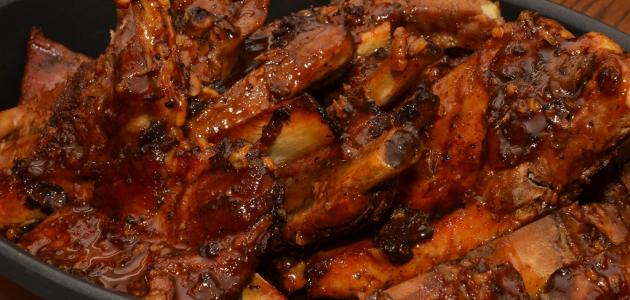طريقة ريش اللحم بالفرن
