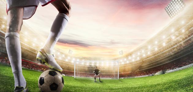 كيف أصبح مهاجم كرة قدم