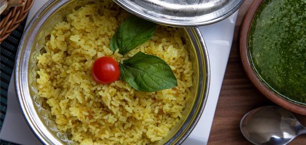 طريقة الرز المصري