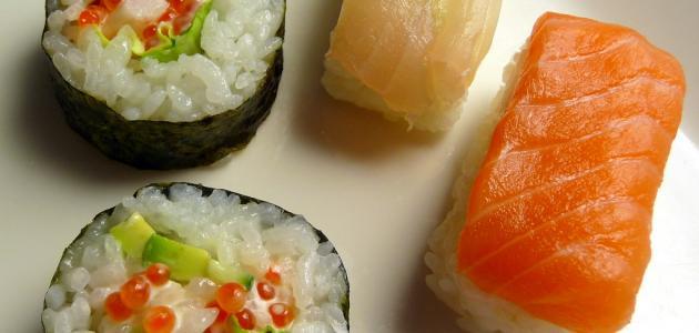 كيف يصنع السوشي
