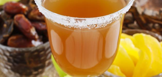عمل شراب قمر الدين