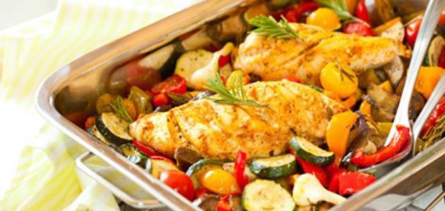 كيف أطبخ دجاج