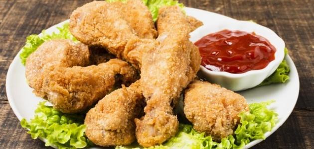 طريقة بروستد الدجاج