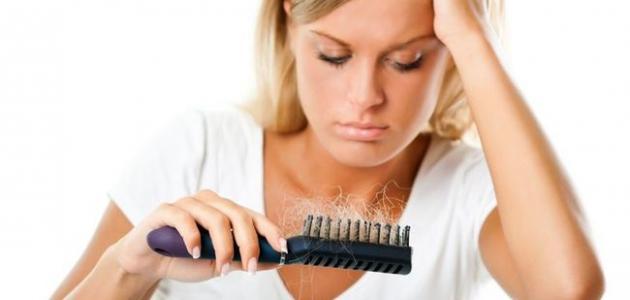 طريقة عدم تساقط الشعر