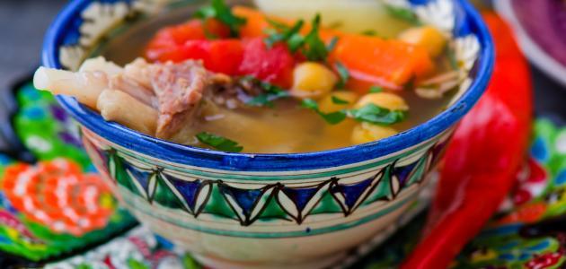 كيفية طبخ الشوربة الجزائرية