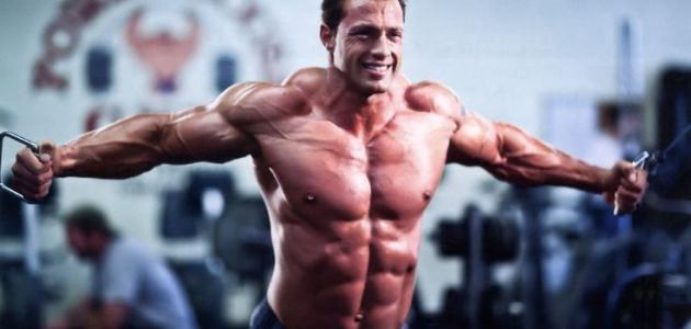 كيف تبني عضلاتك بسرعة