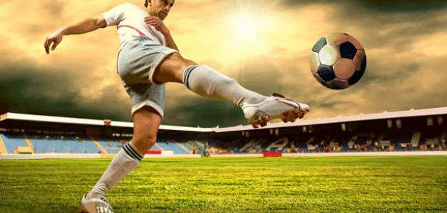 موضوع انجليزي عن كرة القدم