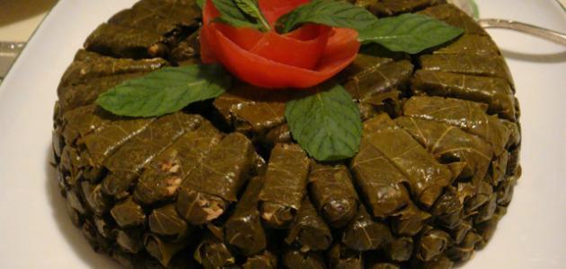 طريقة ورق العنب اللبناني