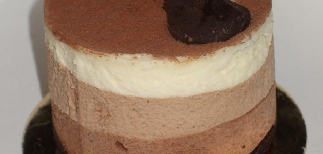 طريقة موس الشوكولاته