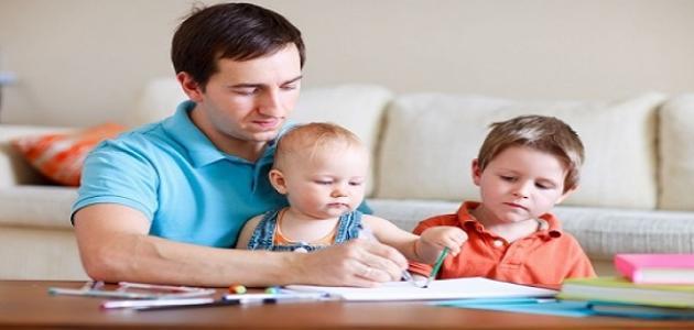 كيف تكون تربية الأطفال