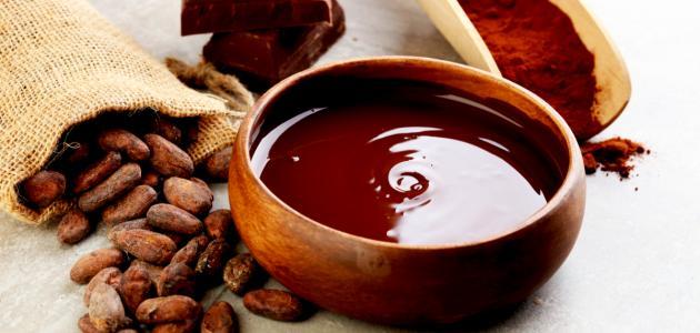 كيف تصنع الشوكولاتة