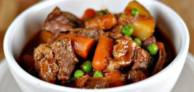 طريقة يخنة اللحم