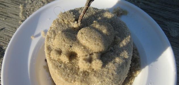 طريقة عمل كيكة الرمل