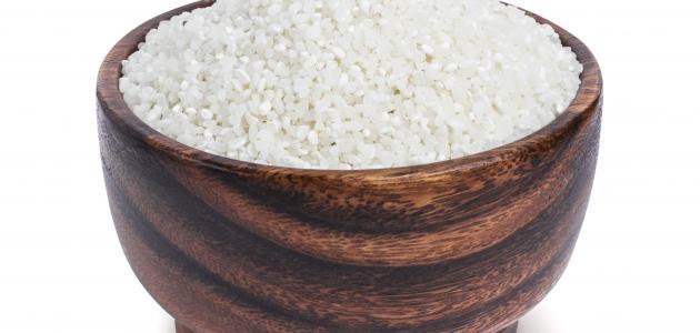 كيفية طحن الأرز