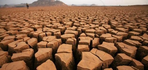 تعريف بظاهرة الجفاف