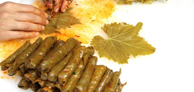 طريقة طبخ ورق العنب