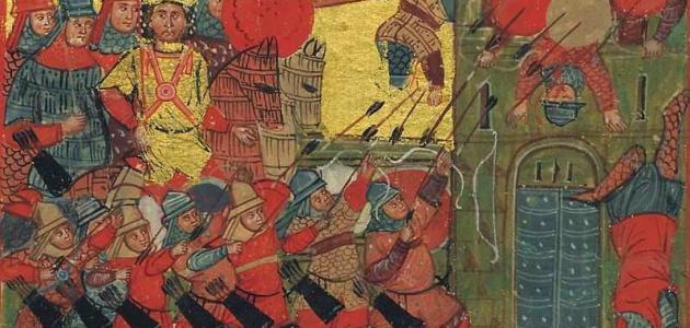 من هم المقدونيين و الفرس و الرومان