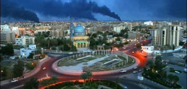 ما أصل كلمة بغداد