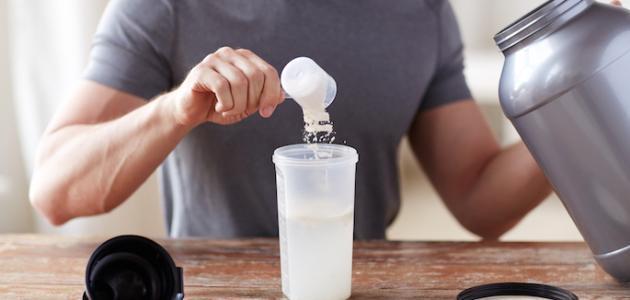 كيفية استخدام البروتين لكمال الأجسام