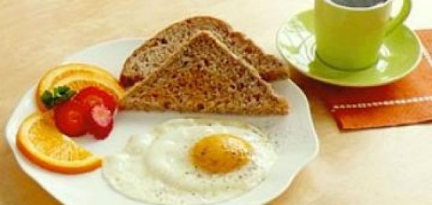 ما هو أفضل فطور للرجيم