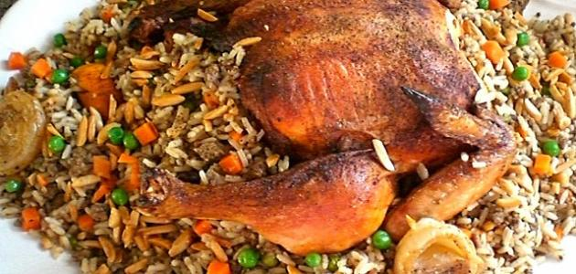 كيفية طبخ دجاج محشي