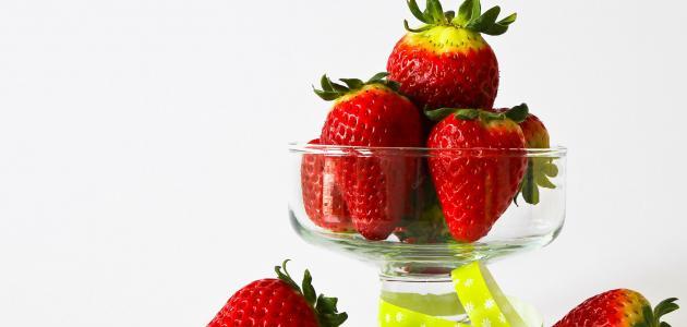 طريقة عصير الفراولة