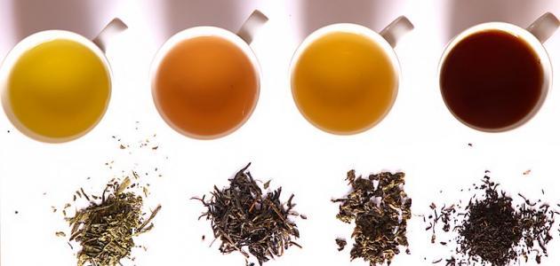 أنواع الشاي في العالم