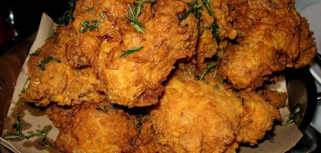 كيفية عمل دجاج كنتاكي