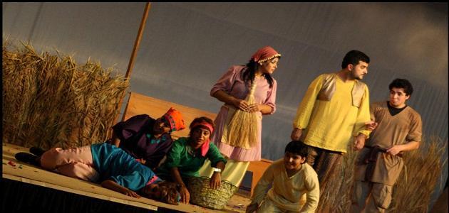 مسرحية الخمس أخوات و الصياد