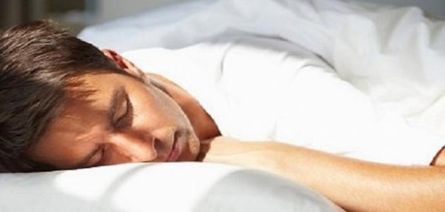 كيف أتخلص من سيلان اللعاب أثناء النوم