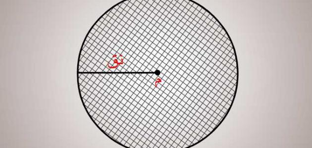 ما هو محيط الدائرة