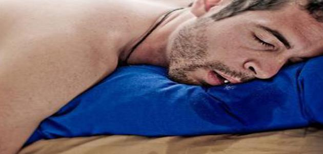 ما هو علاج سيلان اللعاب أثناء النوم