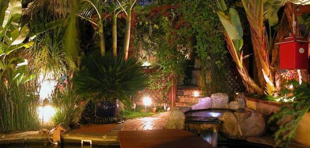 أجمل الحدائق المنزلية