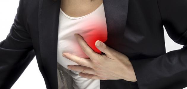 ما هي عوارض الذبحة الصدرية