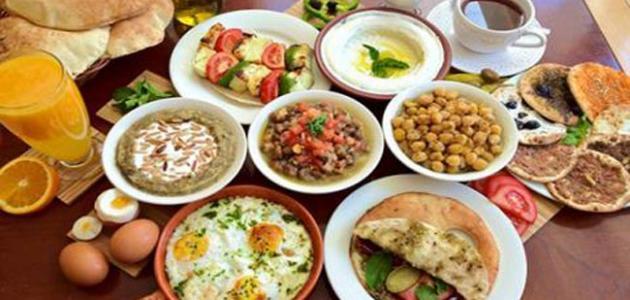 أفضل أطعمة رمضان الأطعمة