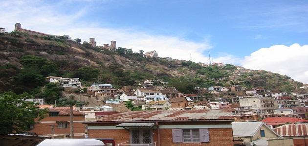 أين تقع مدغشقر