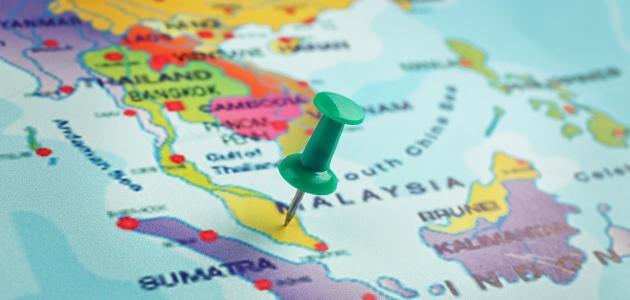 أين تقع ماليزيا