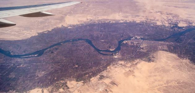 من أين ينبع نهر النيل