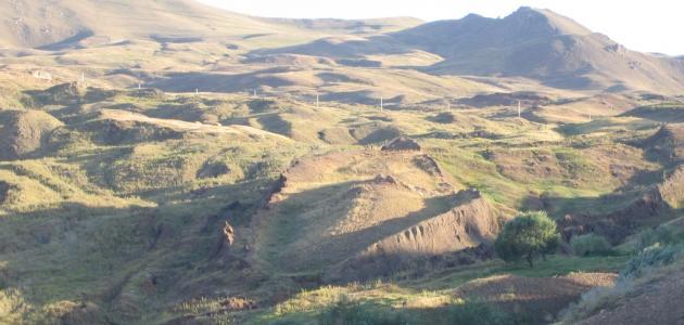 أين يقع جبل الجودي