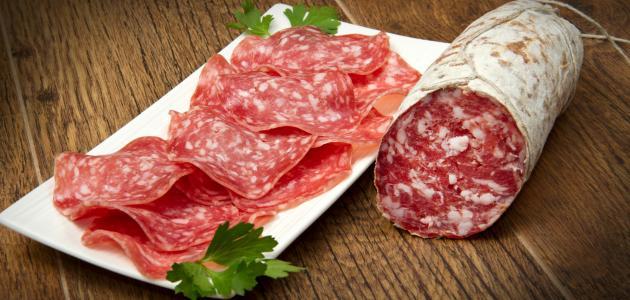 ما هو لحم الببروني