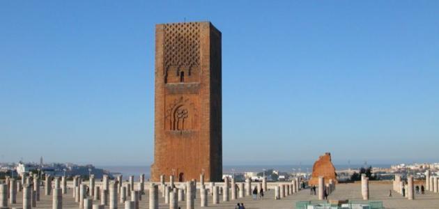 ما هو سبب بناء صومعة حسان