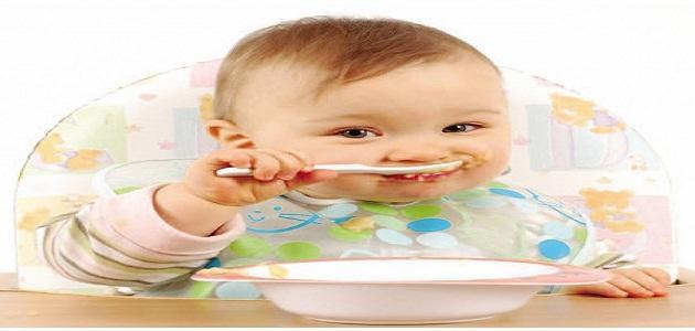 ما هو طعام الأطفال الرضع