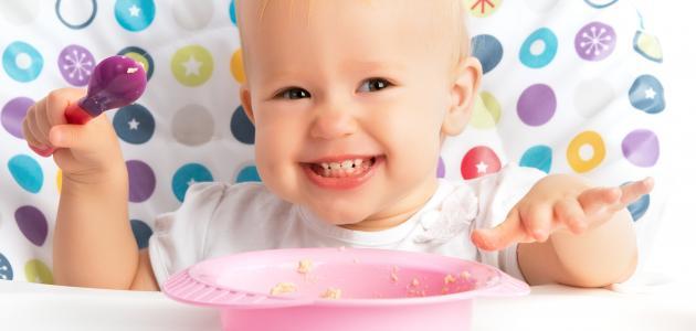 ما هو غذاء الطفل في الشهر السابع