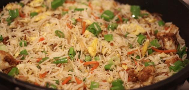 طريقة طبخ الأرز الصيني