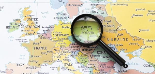 أين تقع بولندا