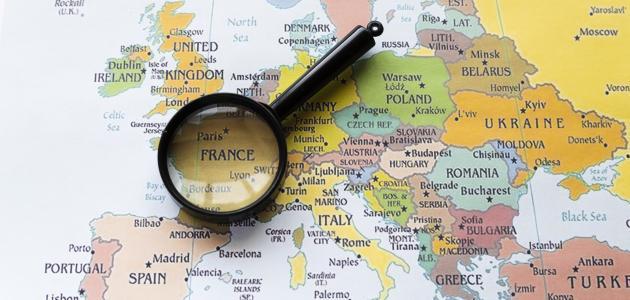أين تقع فرنسا