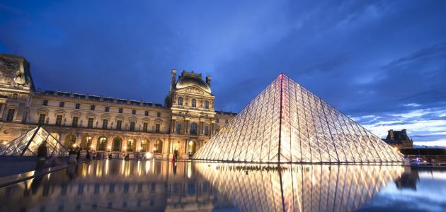 أين يقع متحف اللوفر الشهير
